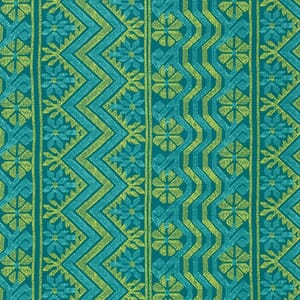 Amy Butler Bright Heart Grounded Teal Cosmo Weave Cotton Fabric