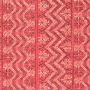 Amy Butler Bright Heart Passionate Papaya Cosmo Weave Cotton Fabric