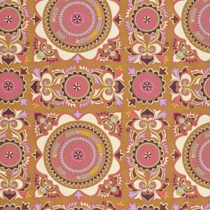 Small Image of Amy Butler Dreamweaver First Blush Linen Mantra Cotton Fabric