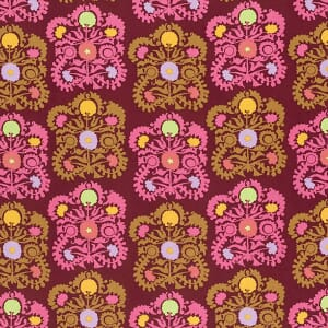 Amy Butler Dreamweaver First Blush Plum Gypsy Embroidery Cotton Fabric