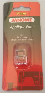 Janome Applique Foot - Category D For 9mm Max Stitch Width Machines