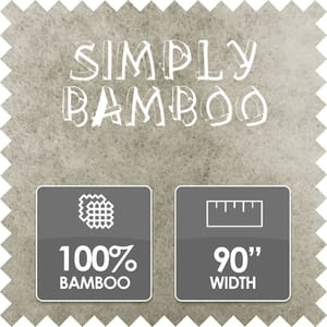 Simply Bamboo Wadding, 100% Bamboo, 90 Inches Wide