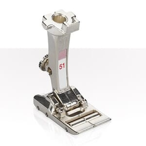 Bernina Foot 51 Leather roller foot with 6 rollers