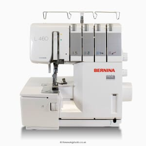 Bernina L460 Overlocker Studio Photo