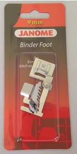 Janome Bias Binder Foot - Category D For 9mm Max Stitch Width Machines
