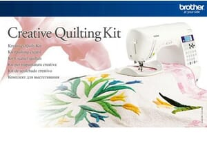 Brother Creative Quilting Kit - QKF1UK