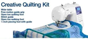 Brother Creative Quilting Kit - QKM1UK