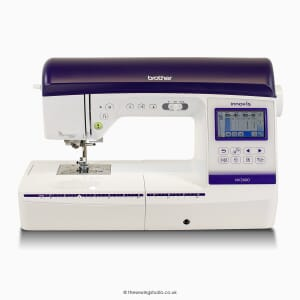 Brother Innov-is NV2600 Sewing & Embroidery Machine Studio Photo