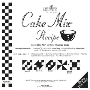 Small Image of Cake Mix Recipe 5 Miss Rosies Quilt Co