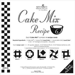 Small Image of Cake Mix Recipe 6 Miss Rosies Quilt Co
