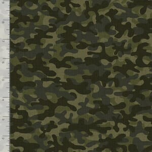 Timeless Treasures Fabric Camouflage Green