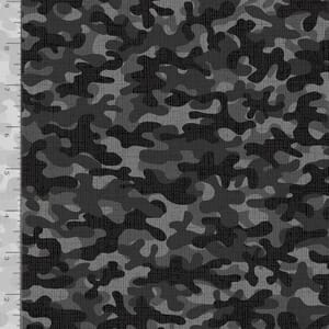 Timeless Treasures Fabric Camouflage Silver
