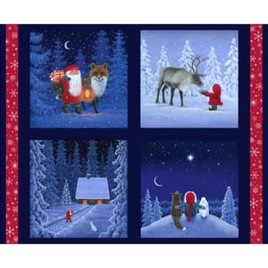 Lewis and Irene Keep Believing Tomten and Friends Cushion Panel