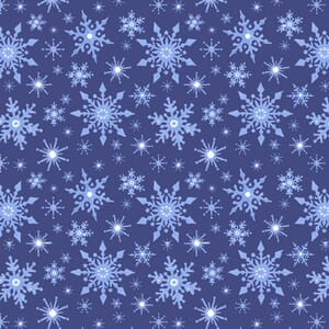 Lewis and Irene Keep Believing Snowflakes Blue CE14.2