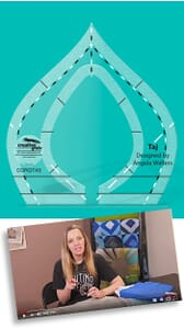 Creative Grids Non-Slip Face Mask Template 3 Sizes in 1