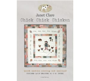 Janet Clare's Chick Chick Chicken Quilt Pattern