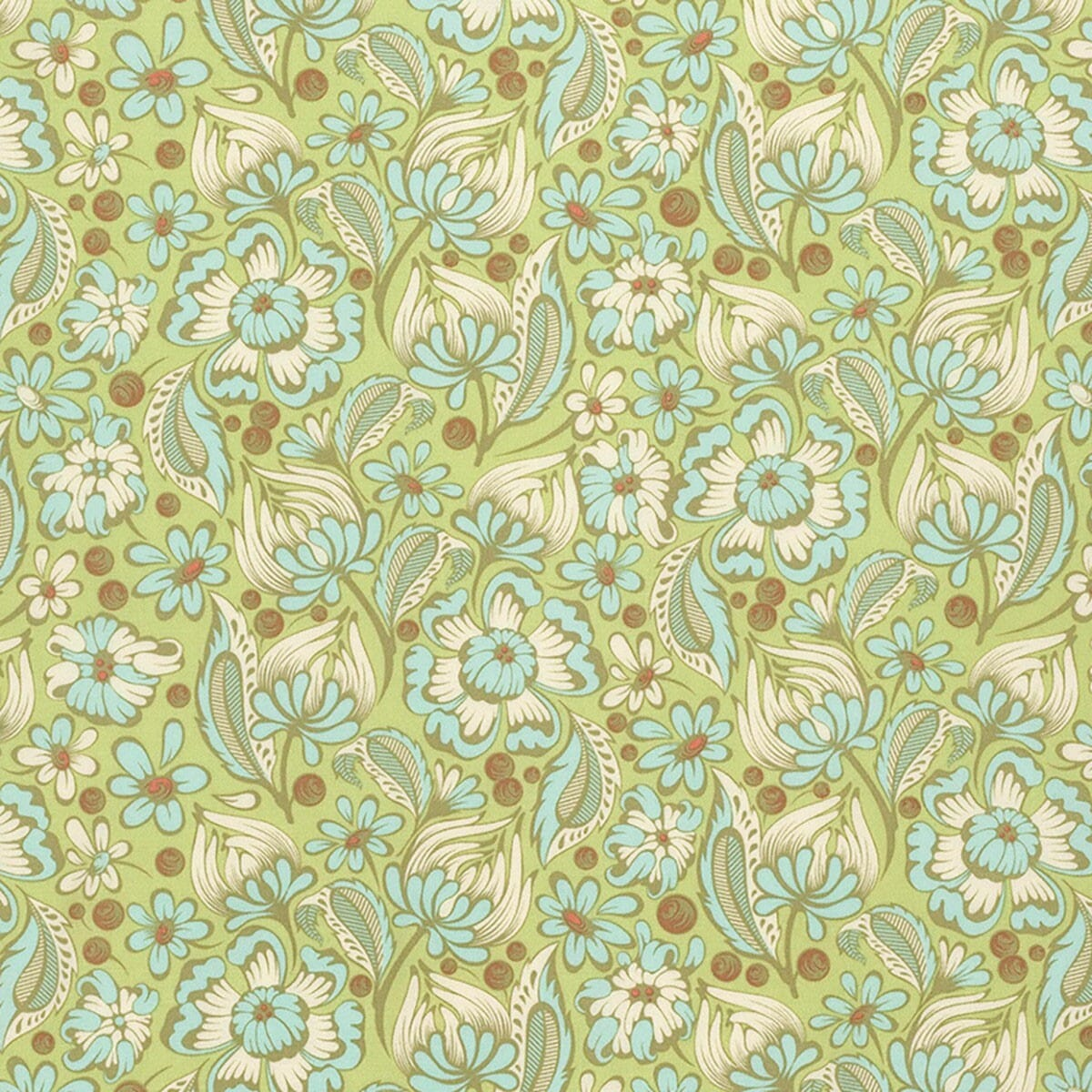 Chipper By Tula Pink Wild Vines Mint