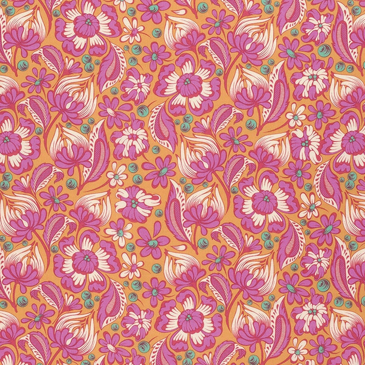 Chipper By Tula Pink Wild Vines Sorbet