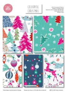 Colourful Christmas Fat Quarter Pack