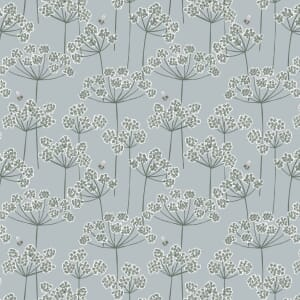 Lewis and Irene Country Life Cow Parsley Grey