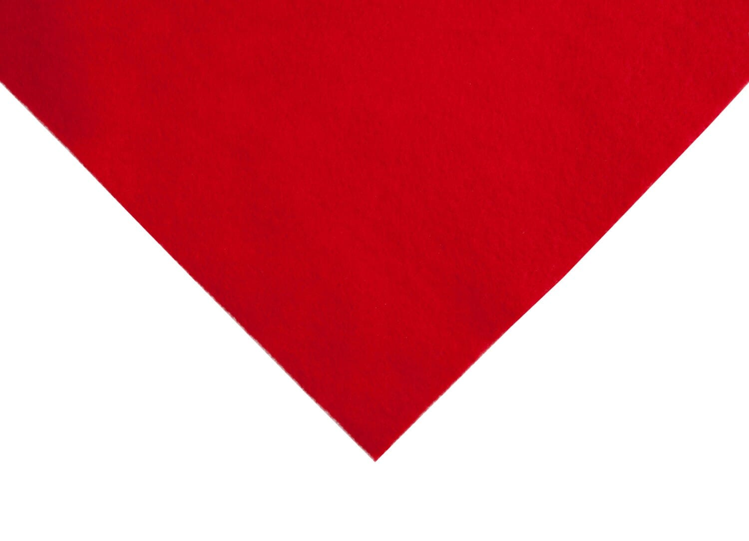 Crafting Felt 3mm Thick Red
