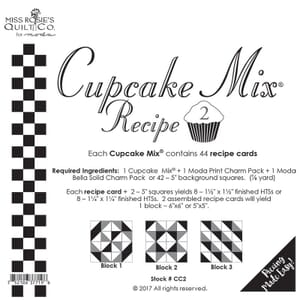 Small Image of Cupcake Mix Recipe 2 By Miss Rosies Quilt Co For Moda