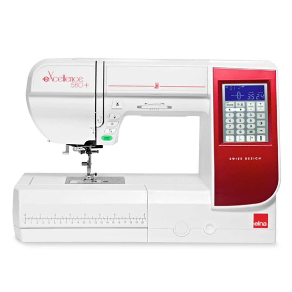 Elna eXcellence 580+ Sewing Machine