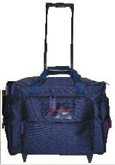 Emb M/C Bag and Trolley
