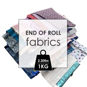 The Sewing Studio End of roll fabric 1KG (2.20Lbs)