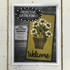 Fall Welcome Banner by Primitive Gatherings