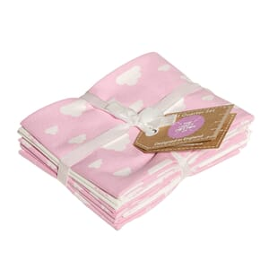 Nursery Basics Pink Fat Quarter Pack