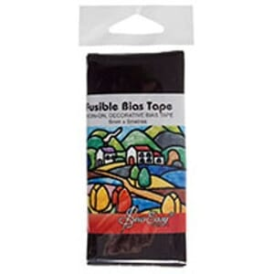 Small Image of Fusible Bias Tape 5M X 6mm Black