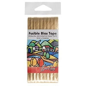 Small Image of Fusible Bias Tape 5M X 6mm Gold