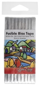 Small Image of Fusible Bias Tape 5M X 6mm Silver