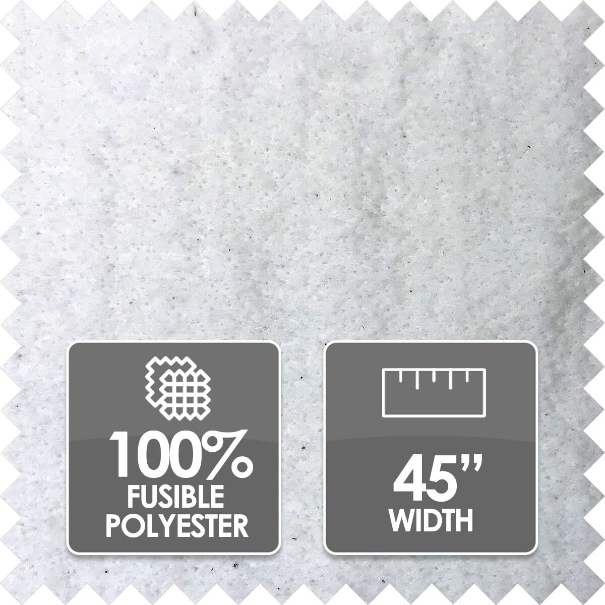 Thermolam Plus Wadding, 100% Polyester, 45 Inch Wide