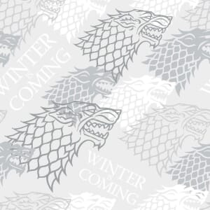 Game of Thrones Winter is Coming Fabric