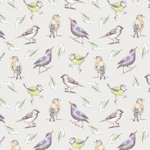 Garden Birds By Debbie Shore Birds Multi Lilac