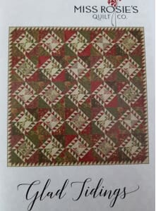 Miss Rosie's Quilt Co Glad Tidings Quilt Pattern