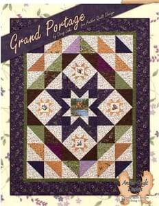 Small Image of Grand Portage Project Book By Doug Leko for Antler Quilt Design