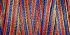 Small Image of Gutermann Sulky Variegated Cotton Thread 30 300M Colour 4108