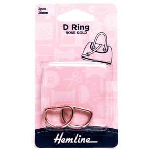 D Rings 20mm Rose Gold 2 Pieces