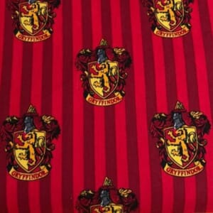 Harry Potter Gryffindor House Quilting Fabric