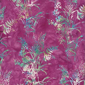 Large Image of Hoffman Batik Fabric 3362-509 Pink