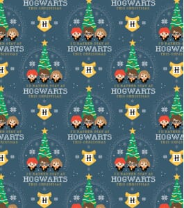 Harry Potter Fabric Snowflake Houses