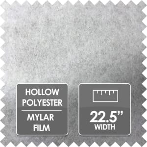 Sew Simple Insulating Wadding, Polyester & Mylor Film, 22 Inch Wide
