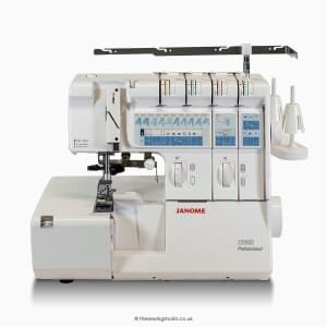 Janome 1200D Overlocker Studio Photo