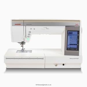 Janome Memory Craft 9450QCP Sewing Machine Studio Photo