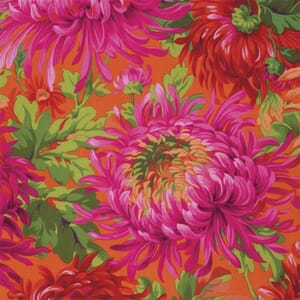 Kaffe Fassett Fabric Shaggy Red