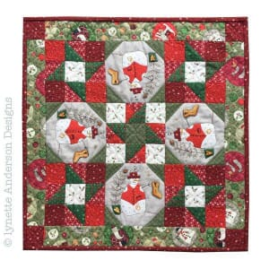 Small Image of  Lynette Anderson Designs Magical Christmas Wall Hanging Pattern