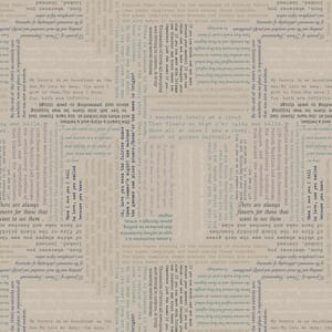 Small image ofLewis And Irene Bookworm Text On Beige A551-3